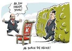 Bildergebnis für schulz kanzlerkandidat karikatur